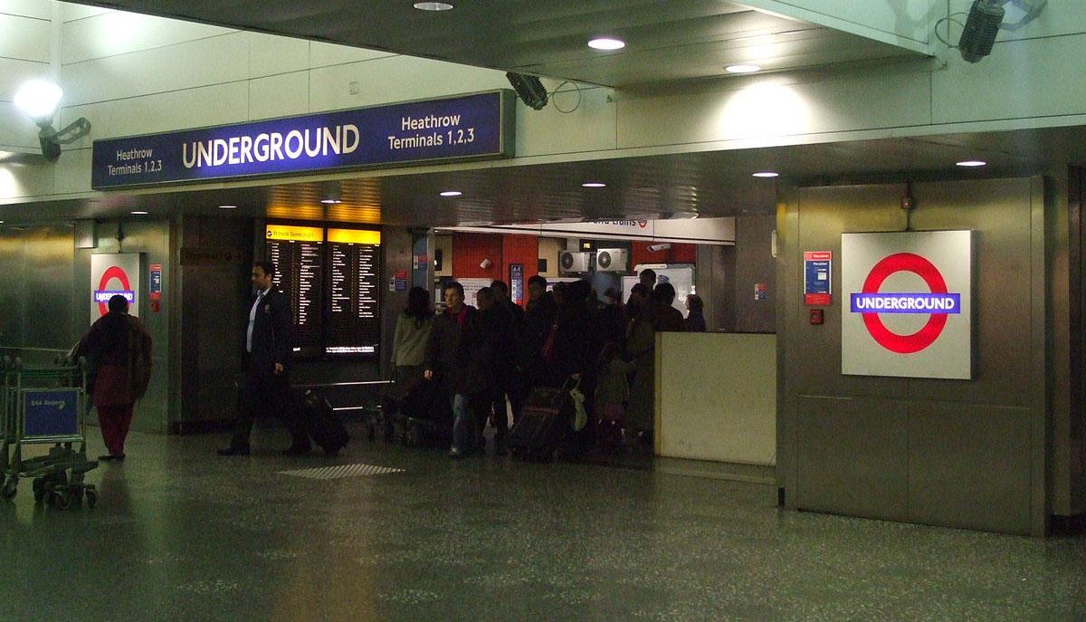 希思罗机场内地铁站